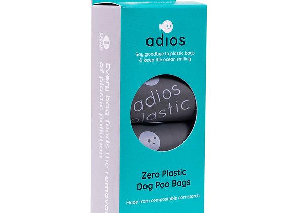 Zero Plastic Dog Poo Bags (Grey)