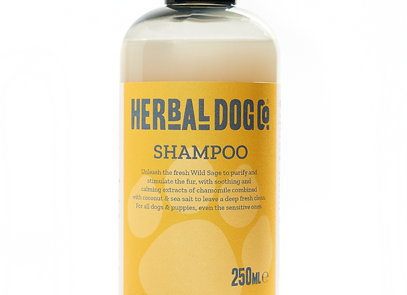 Herbal Dog Co All Natural Peony Blush And Suede shampoo
