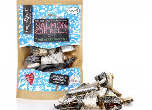 Salmon Skin Rolls (50g)
