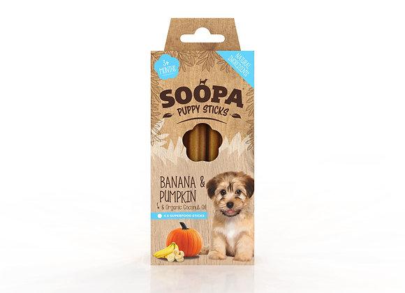 Banana & Pumpkin Puppy Sticks