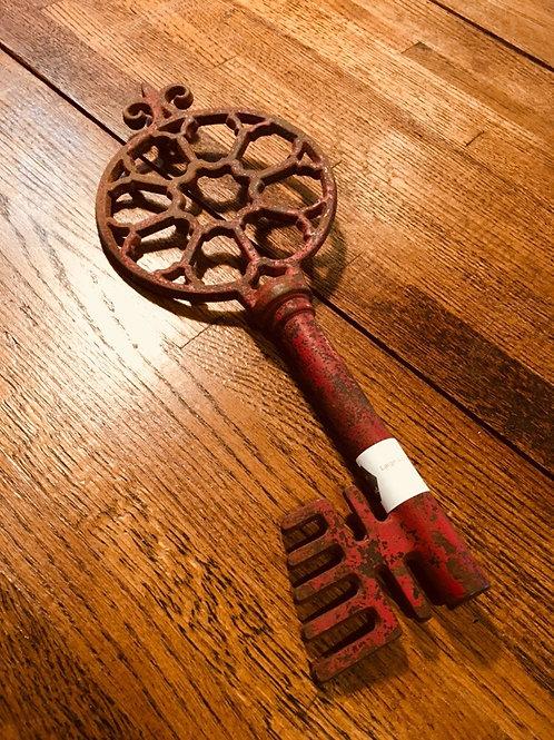 Large Cast Iron Key