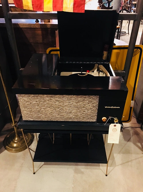 Mid Century Phonograph Stand
