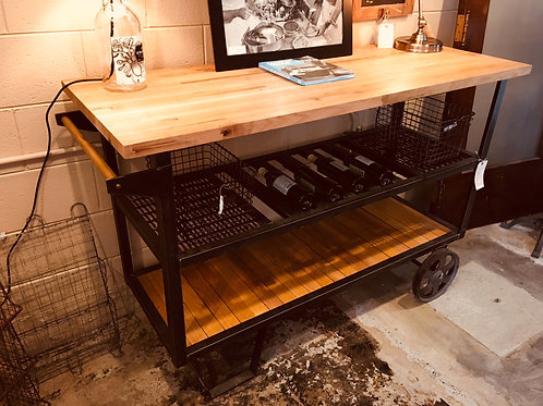 Bar Cart and Side Table