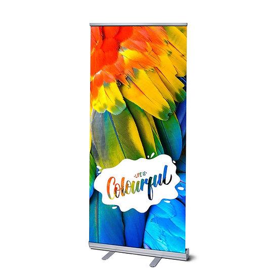 Pop up Banner 850x2000 mm inc print