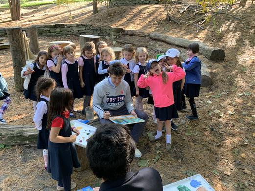 Derik Nelson, Class 10 and Kindergarten girls