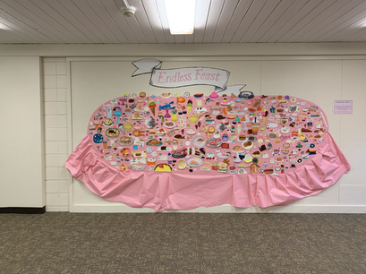 """Middle School Grandparents' Day Project, """"Endless Feast"""""""