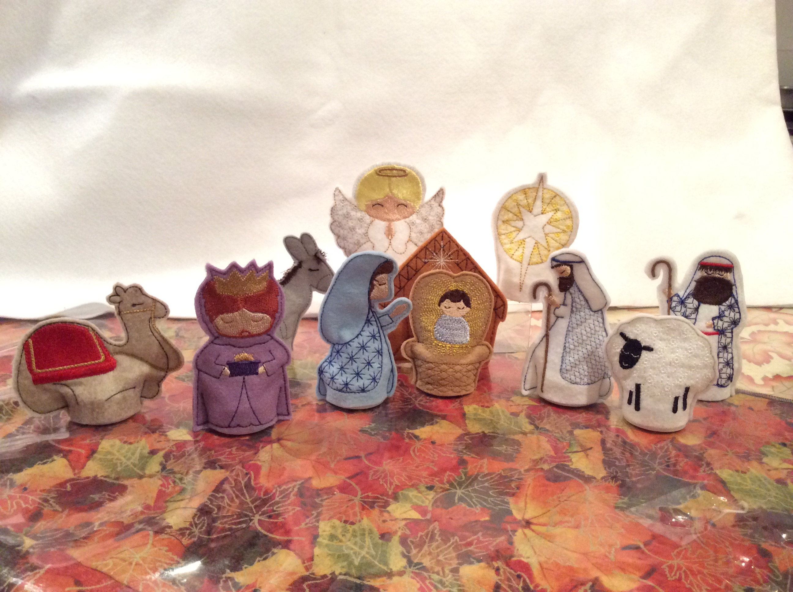 11 piece Nativity 4 inch figures