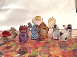 11 piece Nativity 4 inch figures