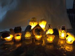 Glowing Nativity