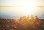 friends-by-campfire-B4SJ7RG.jpg