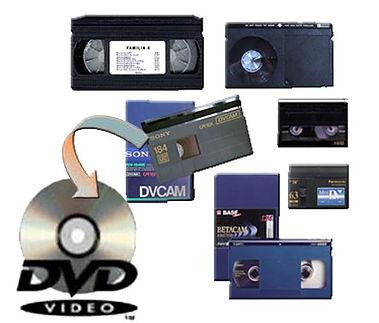 Pase cinta de video a digital