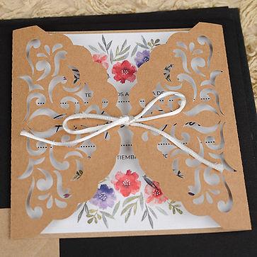 tarjetas de boda canarias