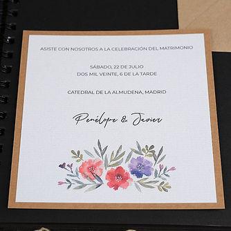 tarjeta boda tenerife