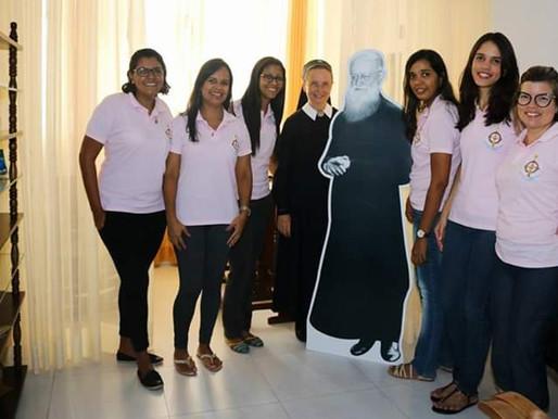 LAFS – Liga Apostólica Feminina de Schoenstatt no Santuário Tabor da Nova Evangelização