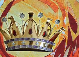 A coroa para nossa Rainha!