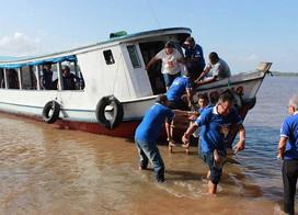 Terço dos Homens em saída na Amazônia