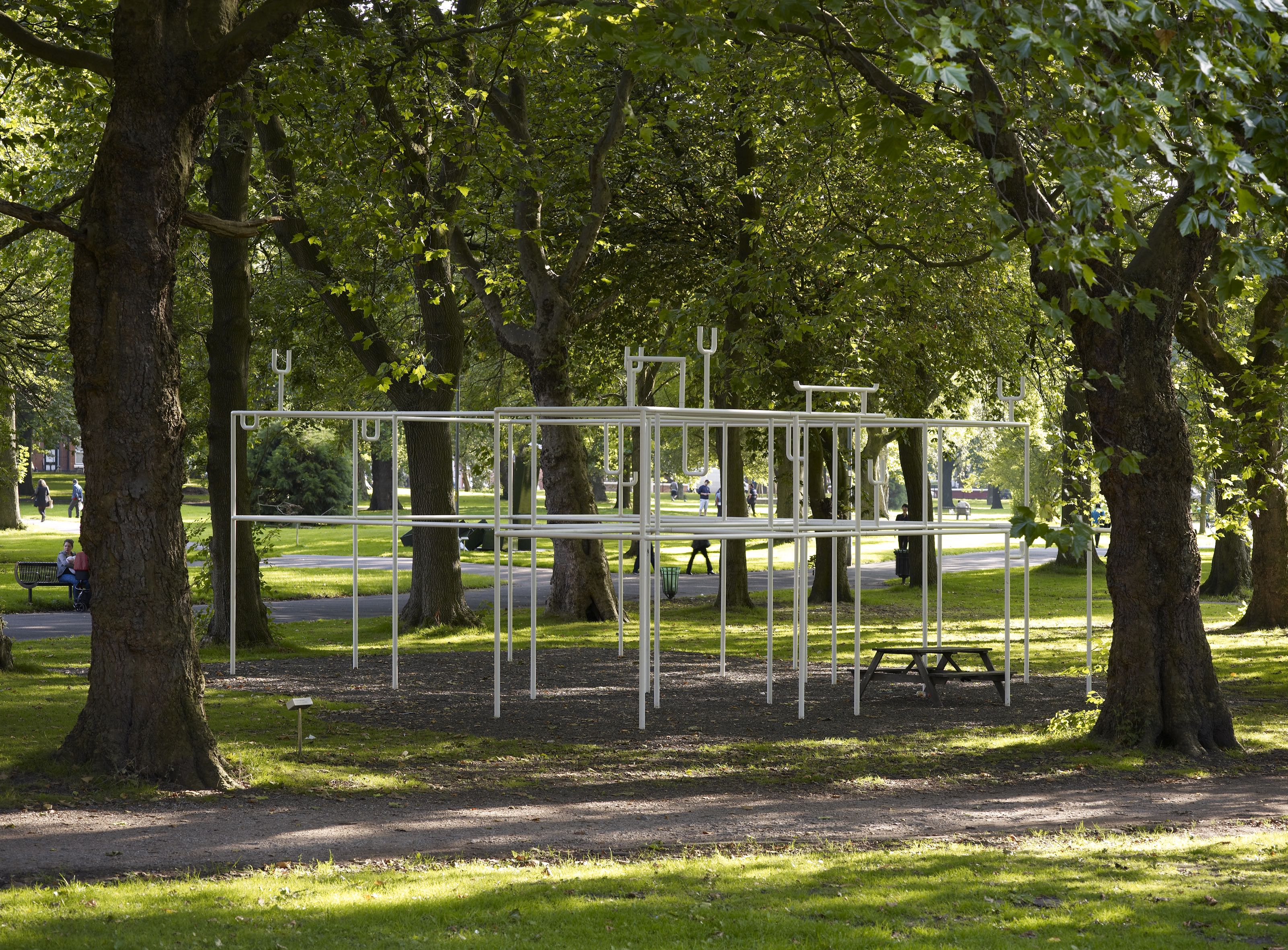 Christine Borland, Support Structure (Hippocrates), The Whitworth, 2016