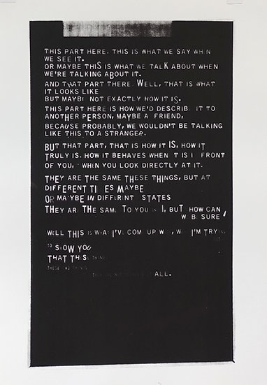 Jane Topping / This Part Here / Screen Print
