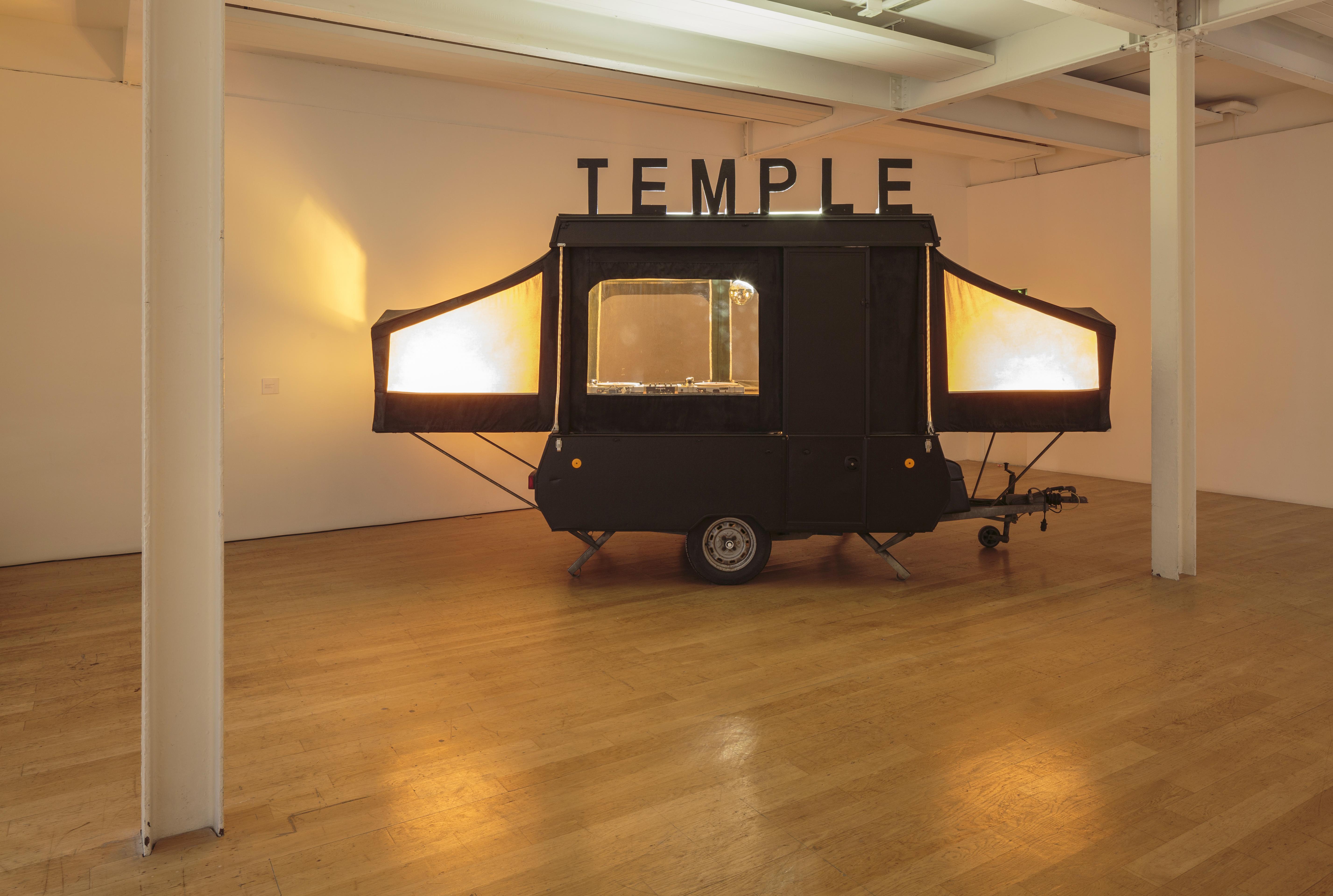 Jacqueline Donachie, Temple of Jackie, The Fruitmarket Gallery, 2017. Photo: Ruth Clark