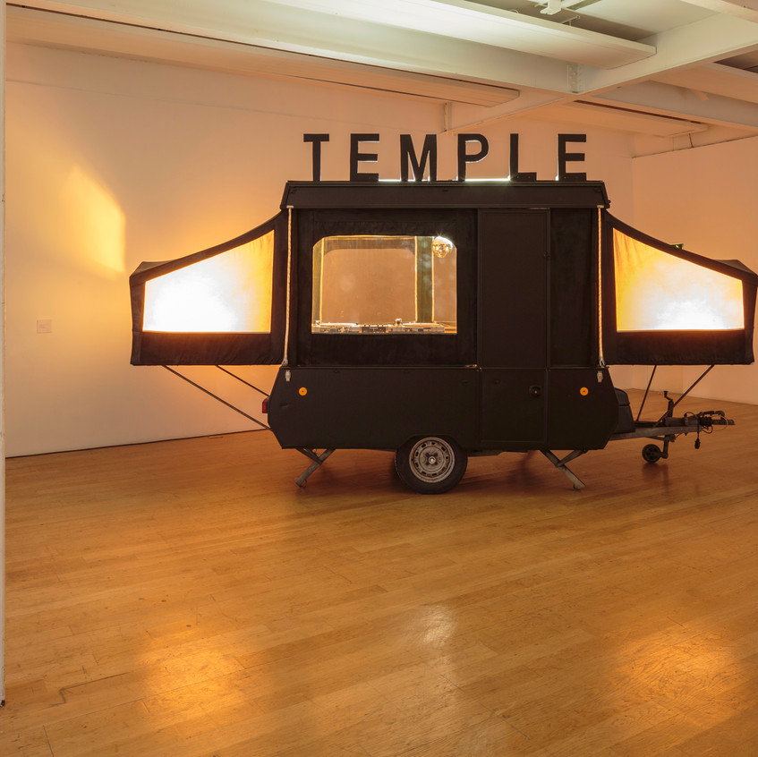 Jacqueline Donachie, Temple of Jackie, The Fruitmarket Gallery, 2017