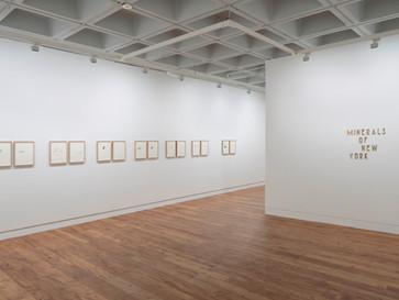 2019 / Ilana Halperin / Minerals of New York / Hunterian Art Gallery