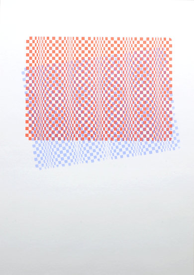 Kate V Robertson / Multiple Perspectives / Screenprint