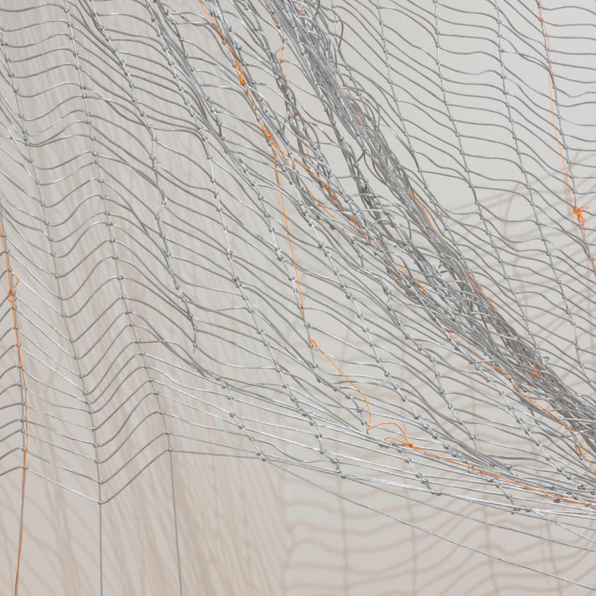 Jacqueline Donachie, Winter Trees (detail), 2016