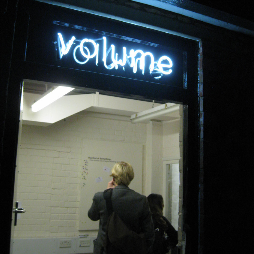 Volume Project Space, London, 2005