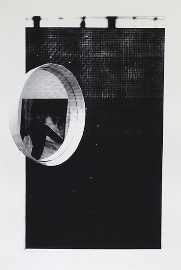 Jane Topping / Cabinet Mirror / Screenprint