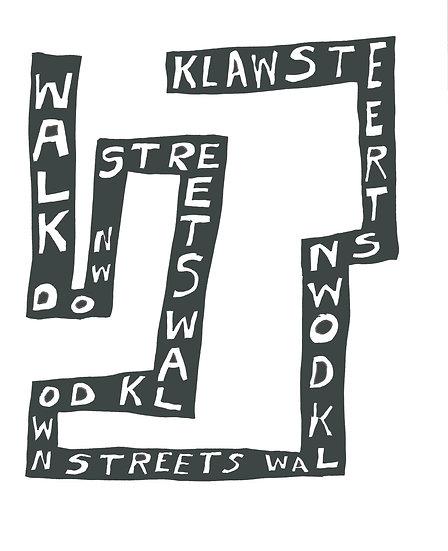 David Sherry / Walk Down Streets / Digital Print