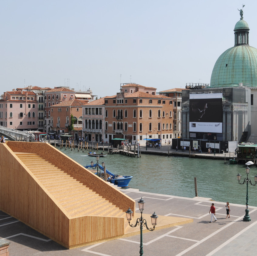A Gathering Space, Scotland at Venice Biennale of Architecture, 2008