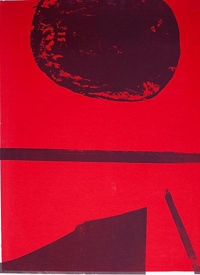 Beth Shapeero & Fraser Taylor / Two Step / Mono-screen print