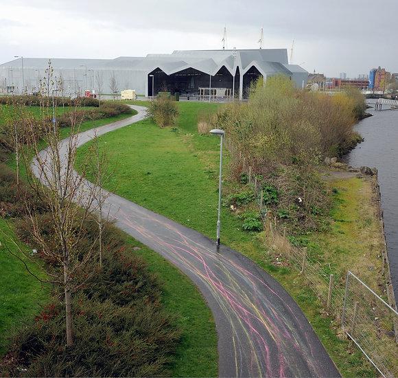 Jacqueline Donachie / Glasgow Slow Down (Riverside) / Digital Print