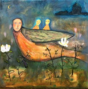 """Night Journey"" Barbara Harnack"