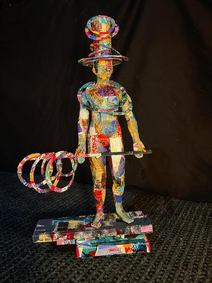 """Circus Figure"" Rick Phelps"