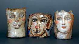 """Three Small Faces"" Barbara Harnack"