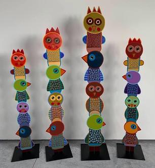 """Bird Totems"" Terrell Powell"