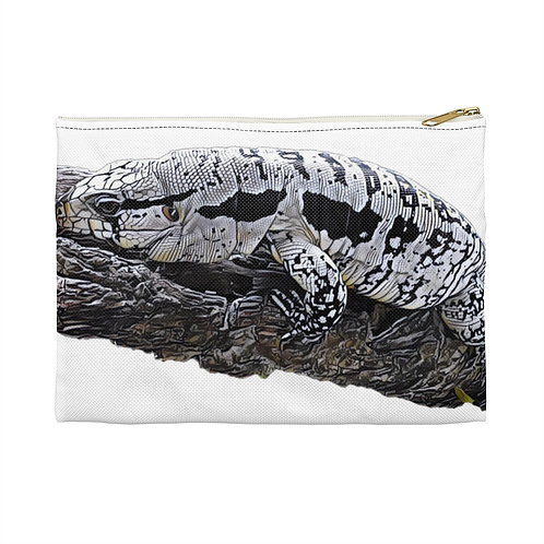 Blizzard Blue Tegu Accessory Pouch, Tegu World, Tegu Lizard