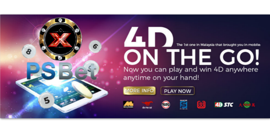 PSBet889 Online Mobile 4D Malaysia Register Agent