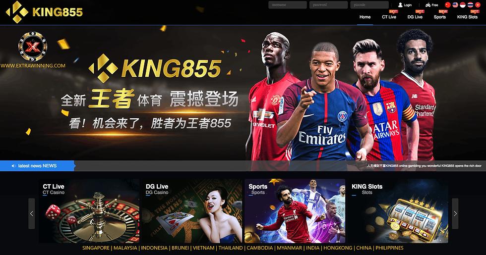 king855 singapore malaysia indonesia brunei vietnam thailand cambodia myanmar india sports betting