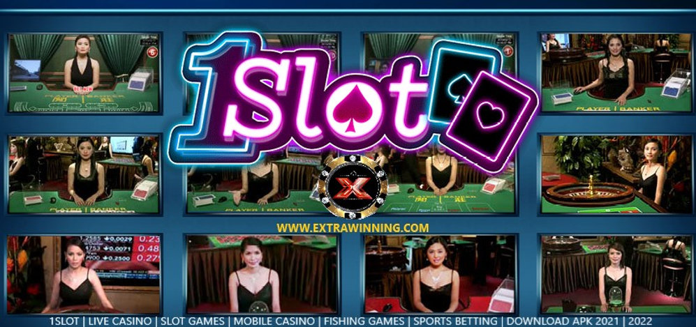 1slot, live casino, slots, mobile, fishing, sports betting, download apk, 2021, 2022