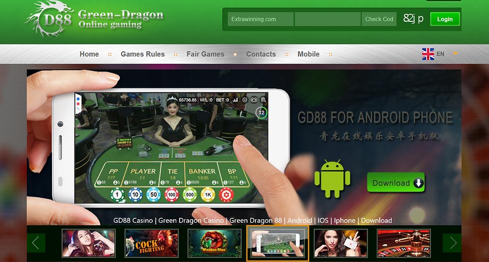 gd88 casino, green dragon casino, green