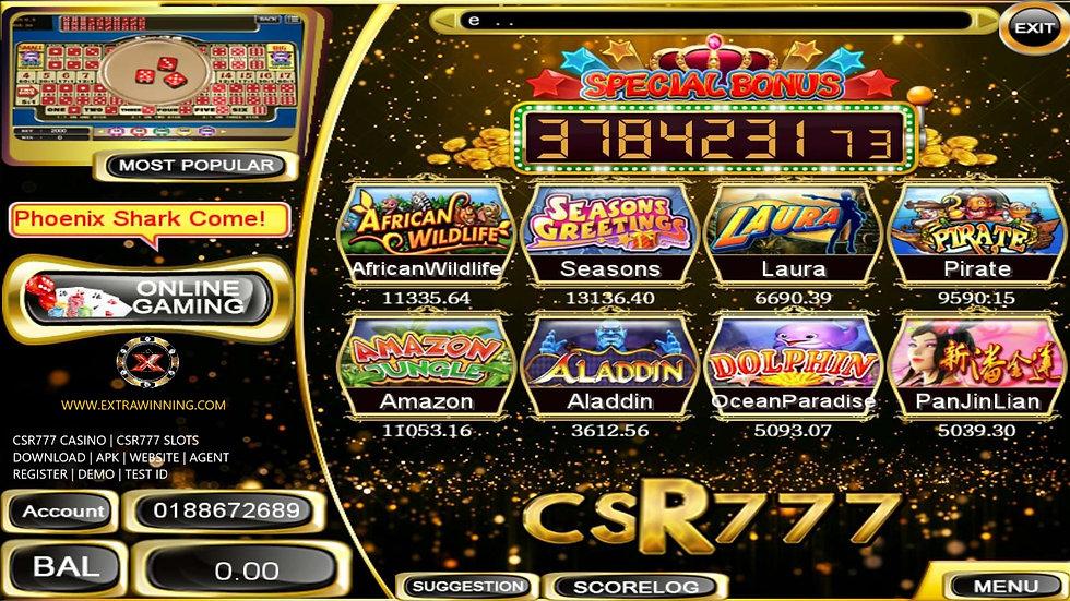 csr777 casino, csr777 slots, download, apk, website, agent, register, demo, test id