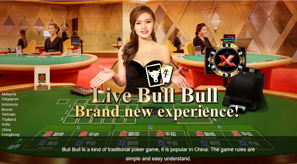 niuniu, live bullbull, malaysia, singapo
