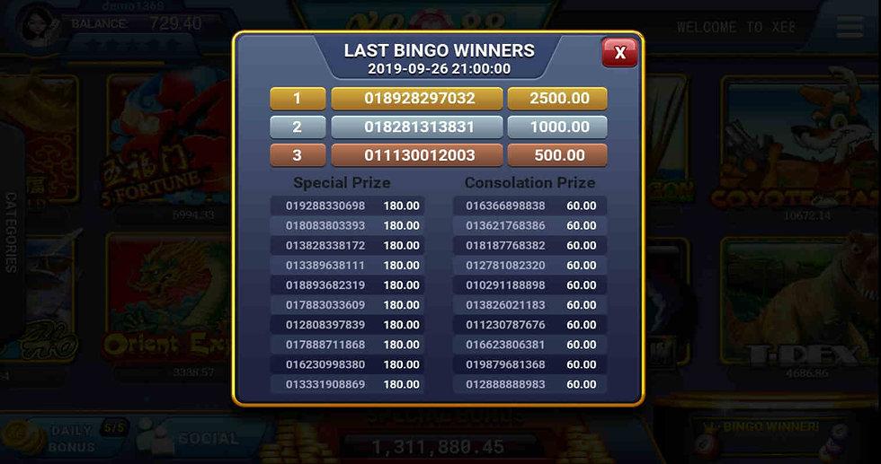 xe88 bingo free bonus casino slots jackpot