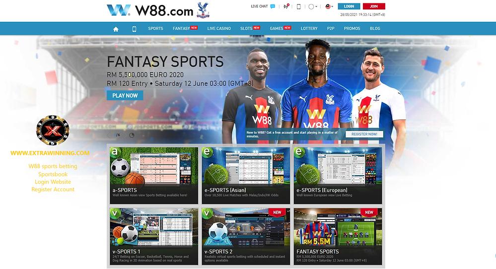 w88 sports betting sportsbook login website register account