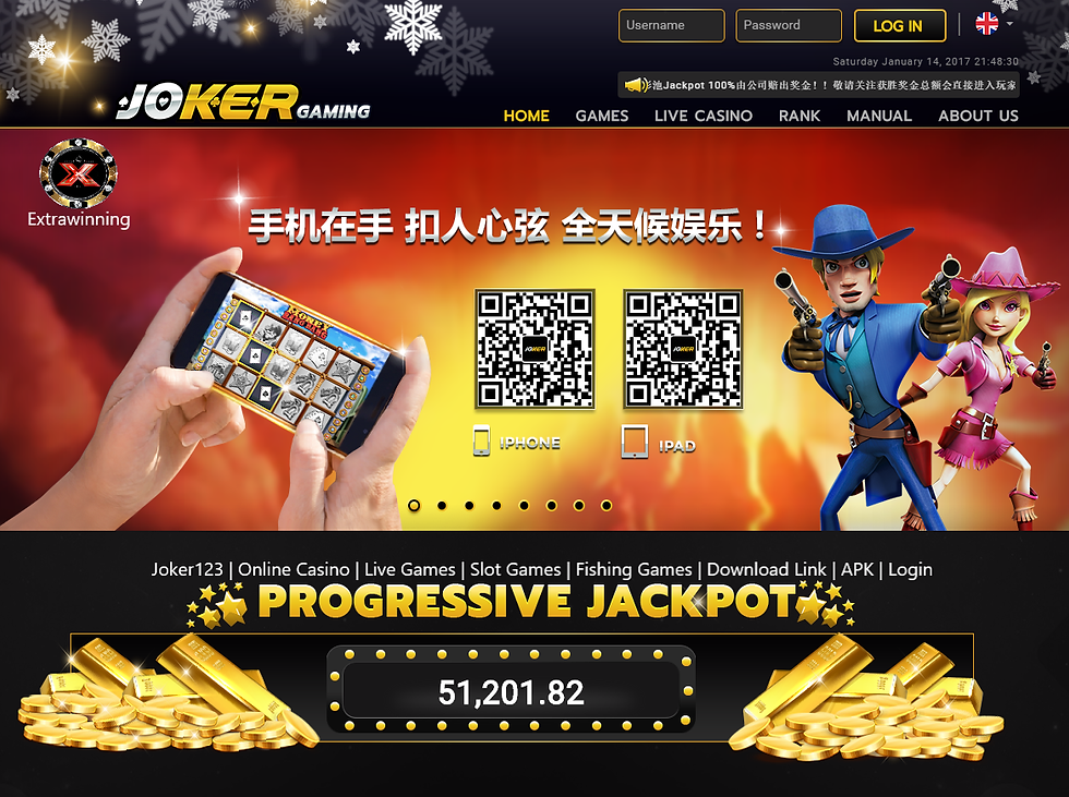 joker123, online casino, live games, slo