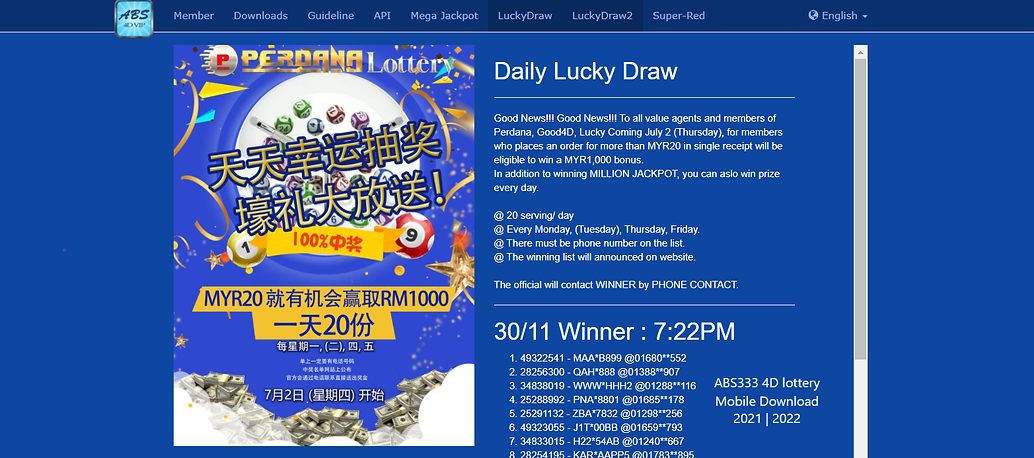 abs333 4d, jackpot, download, mobile, 2021, 2022
