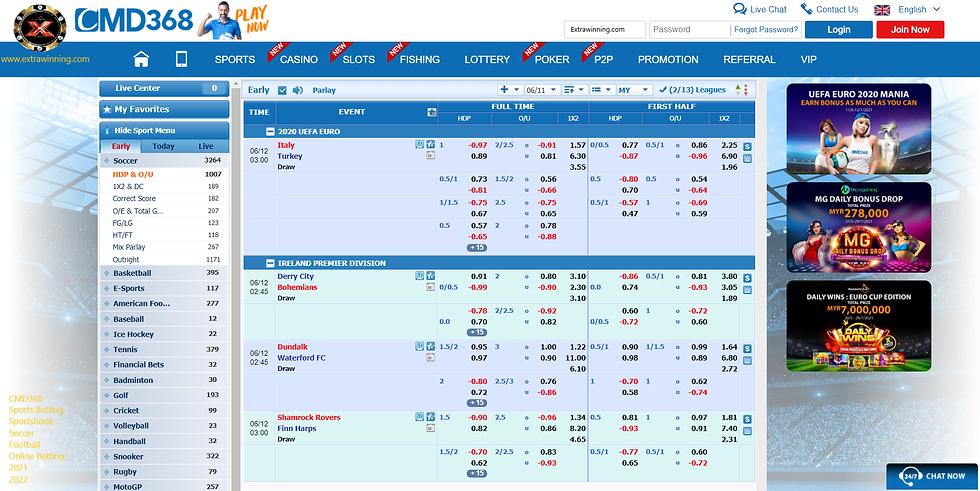 cmd368, sports betting, sportsbook, soccer, football, online betting, 2021, 2022