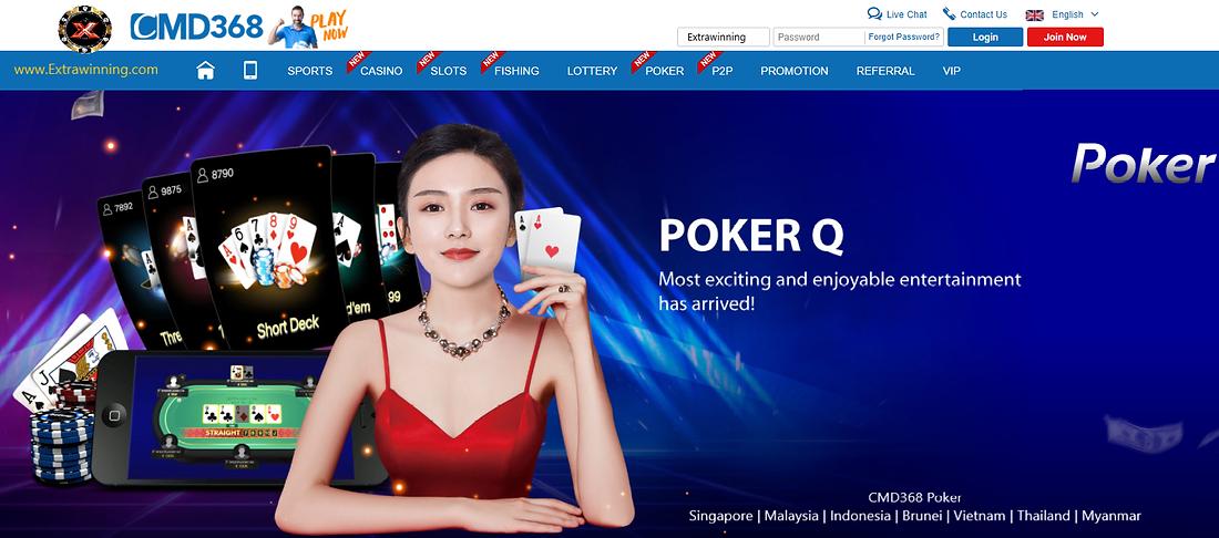 cmd368 poker, singapore, malaysia, indonesia, brunei, vietnam, thailand, myanmar
